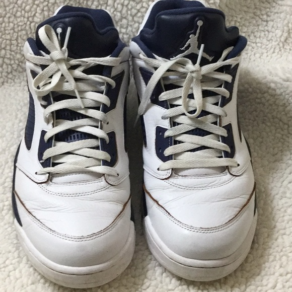 fd150397f9934b Jordan White and blue men s tennis shoes size 14. M 5b5e2b874cdc30eb604498d4